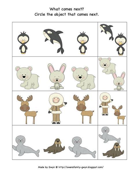 preschool printables arctic storyhour opposites size 333 | cd7bf98391f439243652b00638dceebd