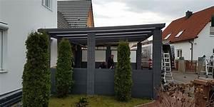 Aluminium Carport Aus Polen : carport aus aluminium mit seitenwand h g berdachung ~ Articles-book.com Haus und Dekorationen