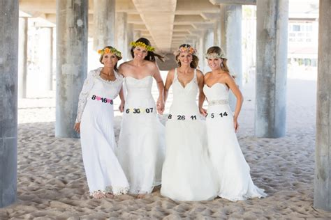 Mother And Daughters Get Back In Their Wedding Dresses