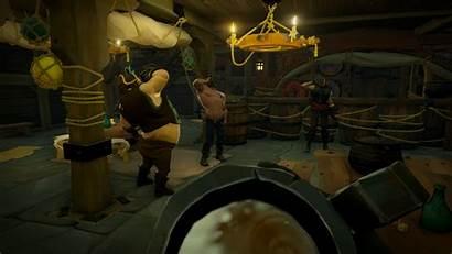 Thieves Sea Pirate Grog Accordion Drinking Ship