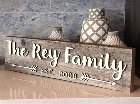 reclaimed wood family sign diy craftcuts community