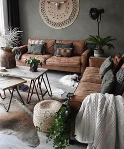 Gemütliche Wohnzimmer Farben : einrichtungsideen gem tliche erdige farben die dieses wohnzimmer super gem tlich machen amzn ~ Watch28wear.com Haus und Dekorationen