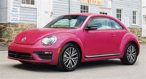 This Pink Vw Beetle Raised Over 30 000 For Breast Cancer