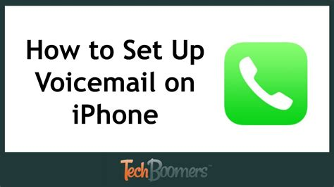 how to set up voicemail on iphone 5c how to setup your voicemail on iphone 6 plus howsto co