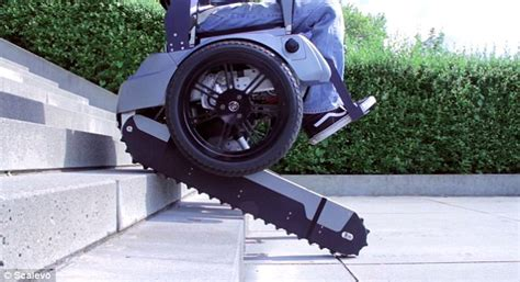 swiss students design wheelchair that can climb and