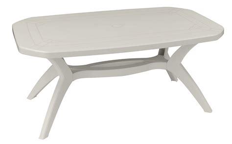 chaises de jardin blanches plastique beautiful table de jardin blanche plastique photos