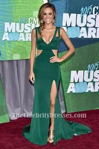 Sage Green Color Chart Kramer Cut Out Evening Dress 2015 Cmt Music Awards