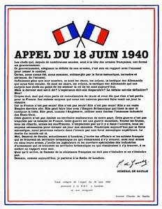 Journée nationale de commémoration de l'appel du 18 juin 1940
