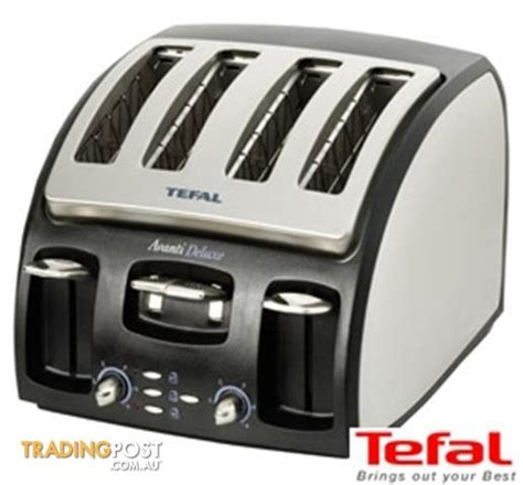 Tefal Avanti Toaster by Tefal Avanti Deluxe 4 Slice Toaster Model 5328 51 1800watt