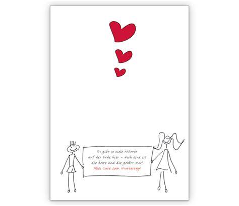 liebevolle klappkarte zum muttertag grusskarten