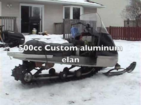 modified cc snowmobile skidoo elan listen