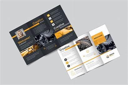 Fold Brochure Tri Creative Corporate Master Brochures