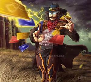 Pin High-noon-twisted-fate-wallpaper on Pinterest