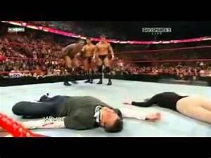Randy Orton RKO stephanie Mcmahon in RAW!!! - YouTube
