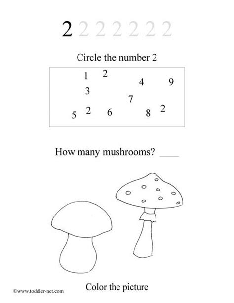 number 2 worksheets for preschoolers free number 2 worksheet 708