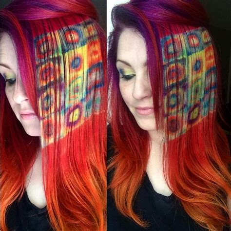 painting hair color paintings in hair neatorama