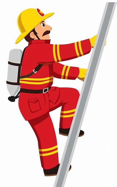 Fireman Clip Clipart Profiss Cios Es Save