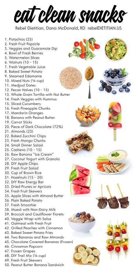 eat clean snacks rebel dietitian