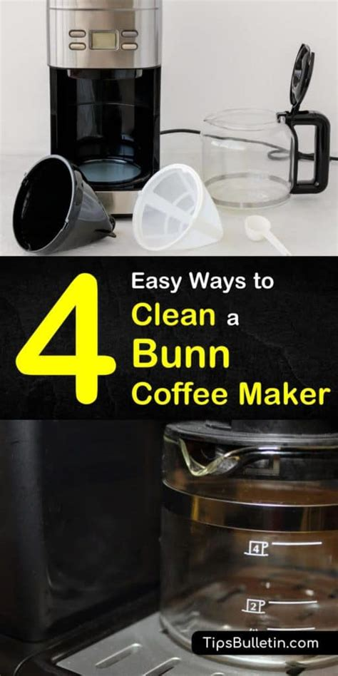 This cleaning method is designed to clean your coffee pot and coffee maker together. How Do You Clean A Bunn Coffee Maker With Vinegar - Image ...