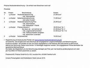 Miete Berechnen Vermieter : vorlage f r nebenkostenabrechnung ~ Themetempest.com Abrechnung