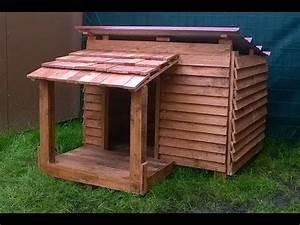 Cabane Pour Chien : construire une niche pour chien en palette palettes ~ Melissatoandfro.com Idées de Décoration