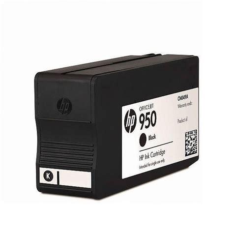 Tinta Hp 950 Black Original hp 950 black ink cartridge cn049ae