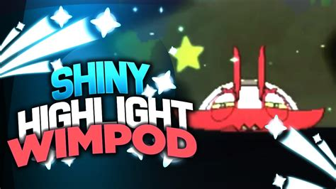SHINY WIMPOD HIGHLIGHT! - SHINY WIMPOD AFTER 3,258 SR'S! - Pokemon Sun and Moon Shiny - YouTube