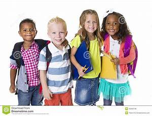 Elementary School Kids Group Stock Photo - Image of ...