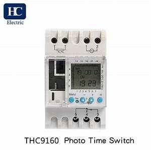 Photocell Lighting Control Switch For Wall Or