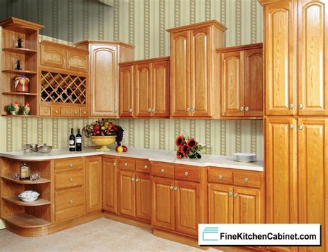 All Wood Cabinets by All Wood Rta 10x10 Country Oak Ready To Assemble Kitchen