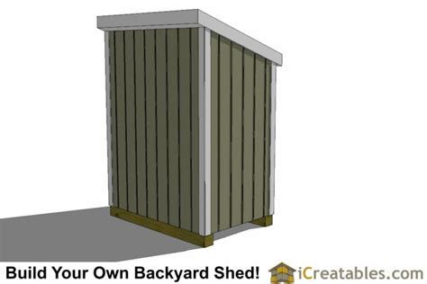 4x6 storage shed plans 4x6 lean to shed plans diy outdoor sheds icreatables