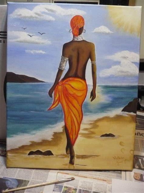25 melhores ideias de negras africanas no pinturas africanas mulheres em 225 frica e