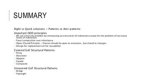 gof design patterns  introduction structural patterns