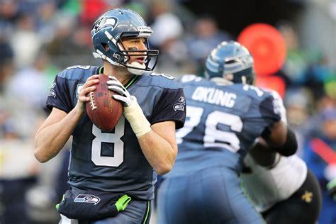 seahawks quarterback matt hasselbeck announces