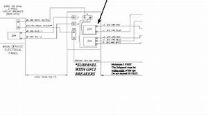 Hot Tub - Electrical Plan - Thoughts