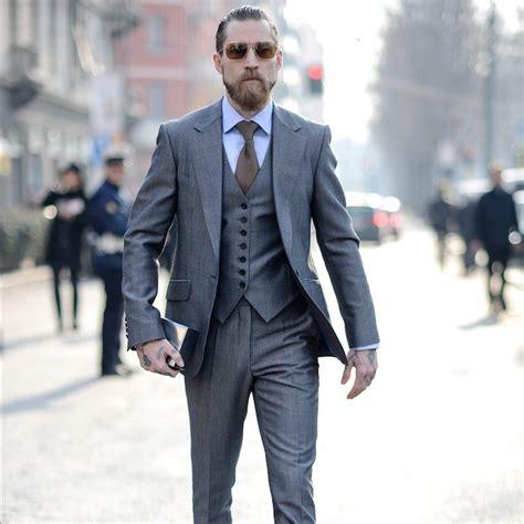 1001 ideen thema grauer anzug welches hemd passt dazu - Grauer Anzug Braune Schuhe
