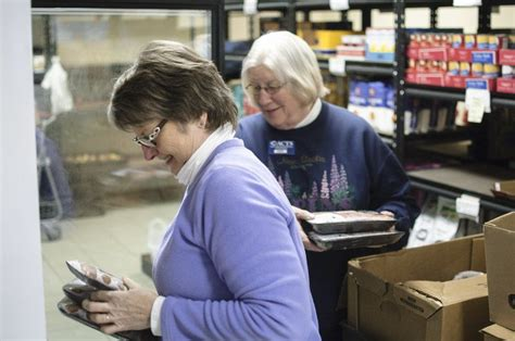 northwest christian thrift store food rescue collects 5 million pounds local news record eagle com
