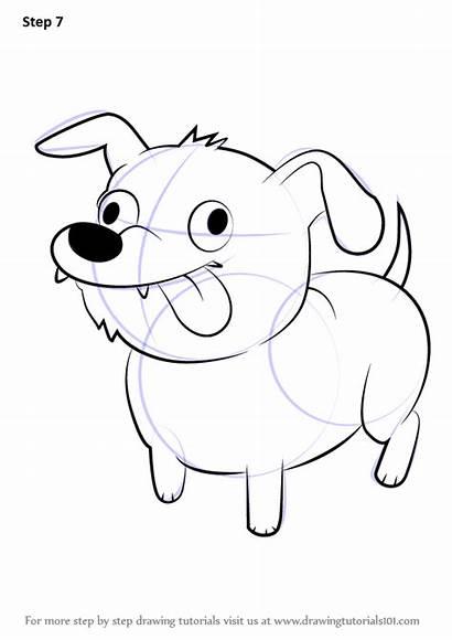 Draw Dog Steven Universe Step Drawing Cartoon