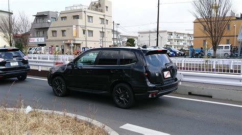 2019 Subaru Global Platform by 2019 Subaru Forester Spied Testing In Japan