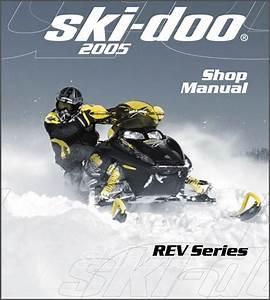 2005 Ski-doo Rev Snowmobiles Service Repair Manual Cd