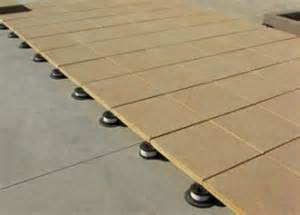 Tile Tech Cool Roof Pavers by Pedestal Pavers Pedestal System Tile Tech Pavers