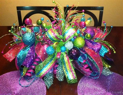 whimsical christmas centerpiece exle only