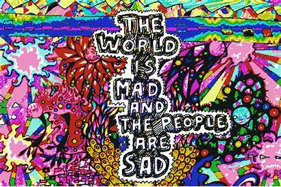 Trippy Quotes Hippie Cool Drawings Psychedelic Hippy