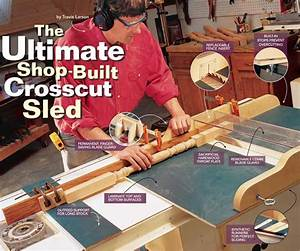 How to Build a Crosscut Sled: Free DIY Crosscut Sled Project