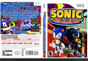 Sonic Mega Collection Wii Box Art Cover By Soniciscool