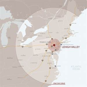 Maps of the Lehigh Valley - Lehigh Valley, PA - Lehigh ...