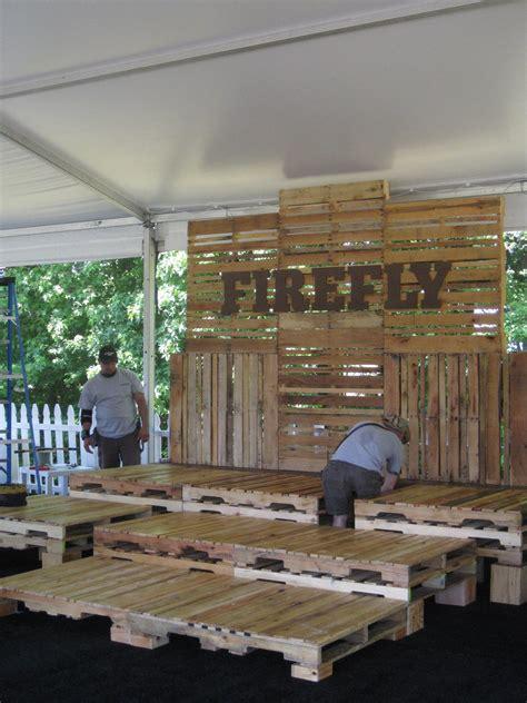 firefly pallet seating  vip loft ivan carlson
