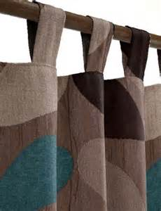 Brown And Teal Living Room Curtains by Brown Curtains Teal And Curtains On