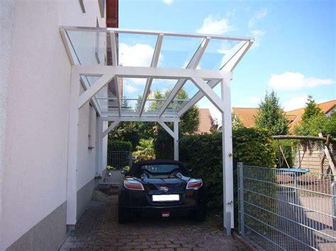 Garage An Nachbargrenze by Glasdach Carports Und Transparentdach Carports Carport