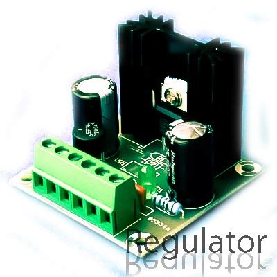 7812 voltage stabilizer circuit wiring